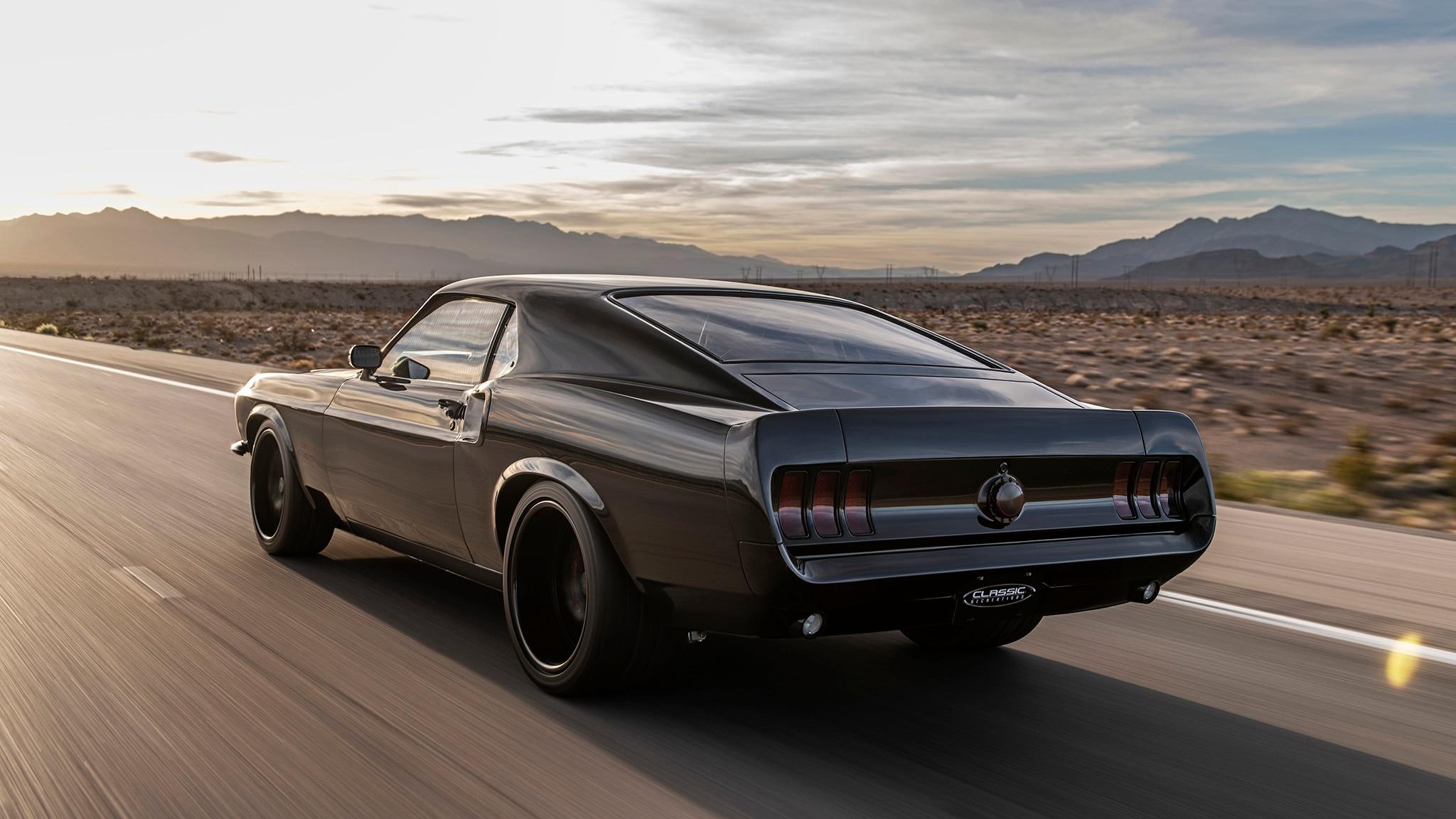 02 Classic Recreations 1969 Boss 429 Mustang