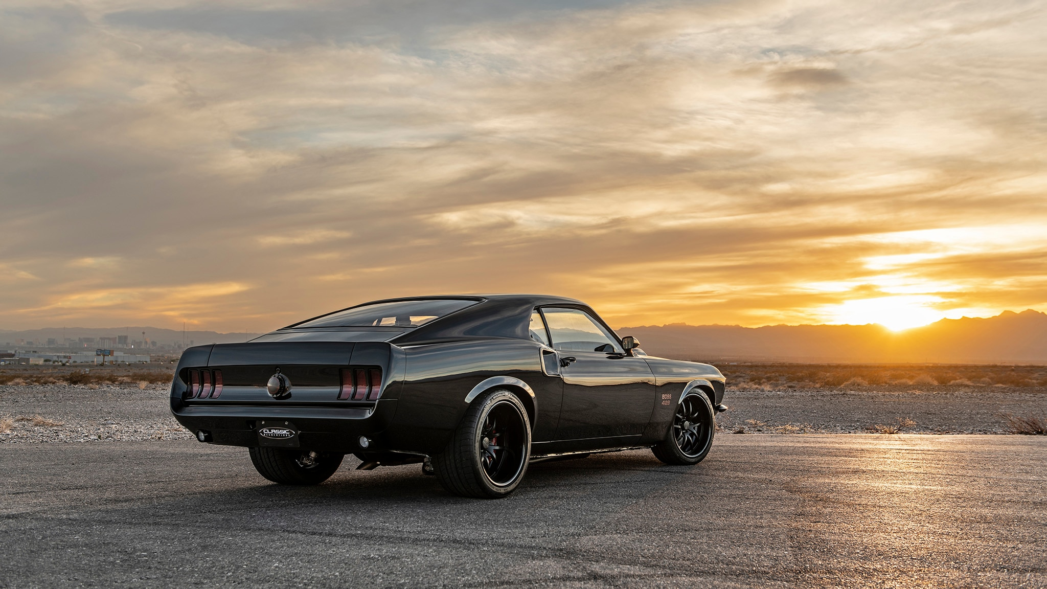 08 Classic Recreations 1969 Boss 429 Mustang