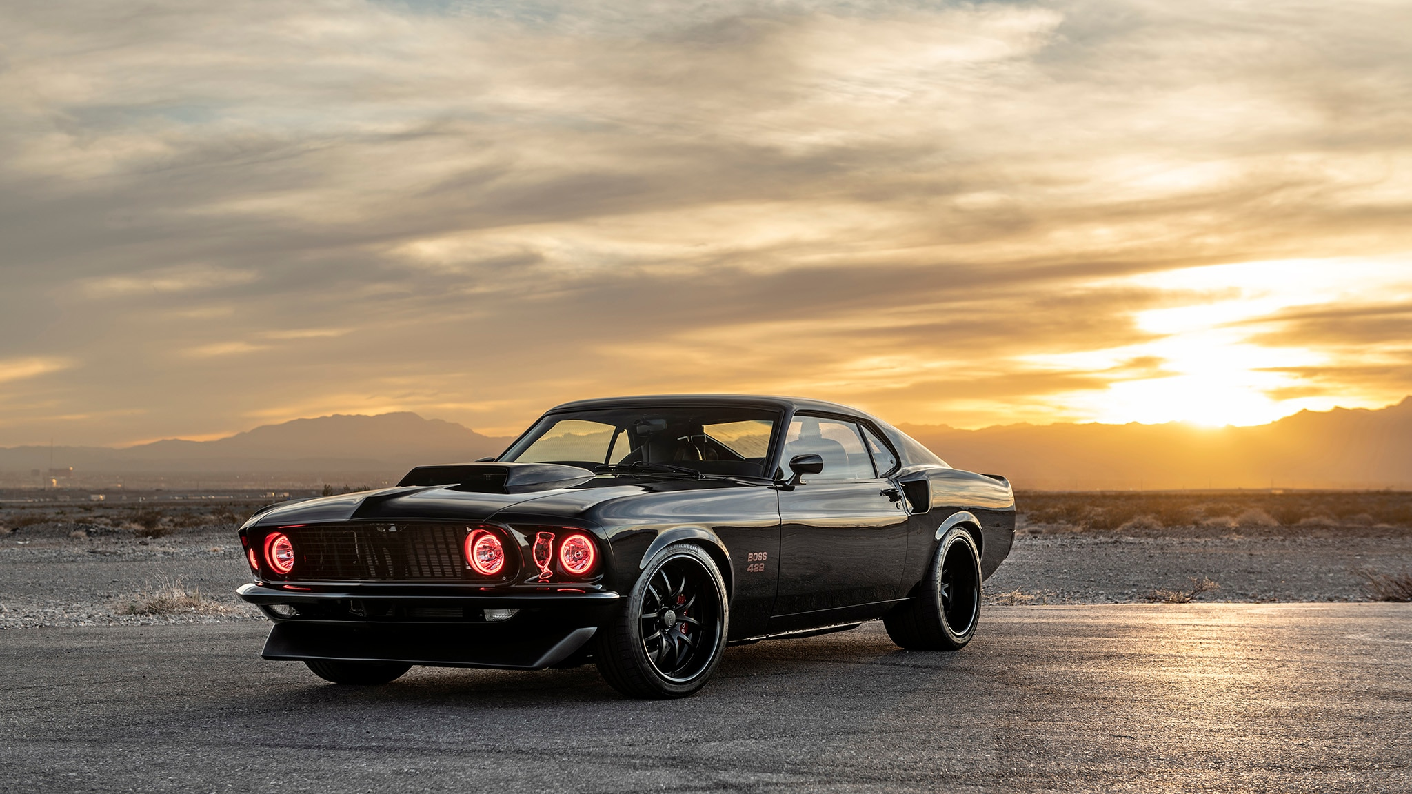 09 Classic Recreations 1969 Boss 429 Mustang