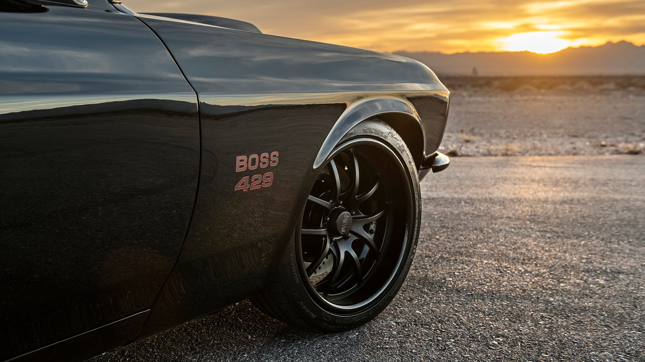 16 Classic Recreations 1969 Boss 429 Mustang