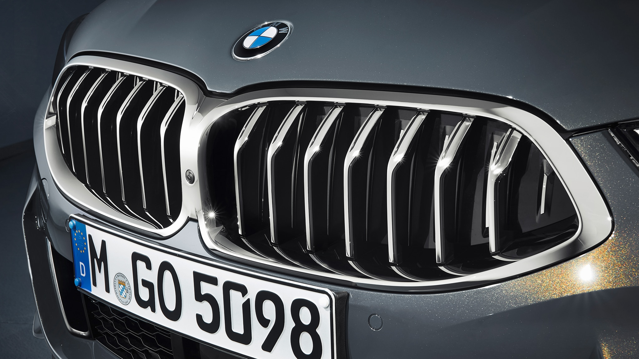 2019 BMW M850i Convertible Grille