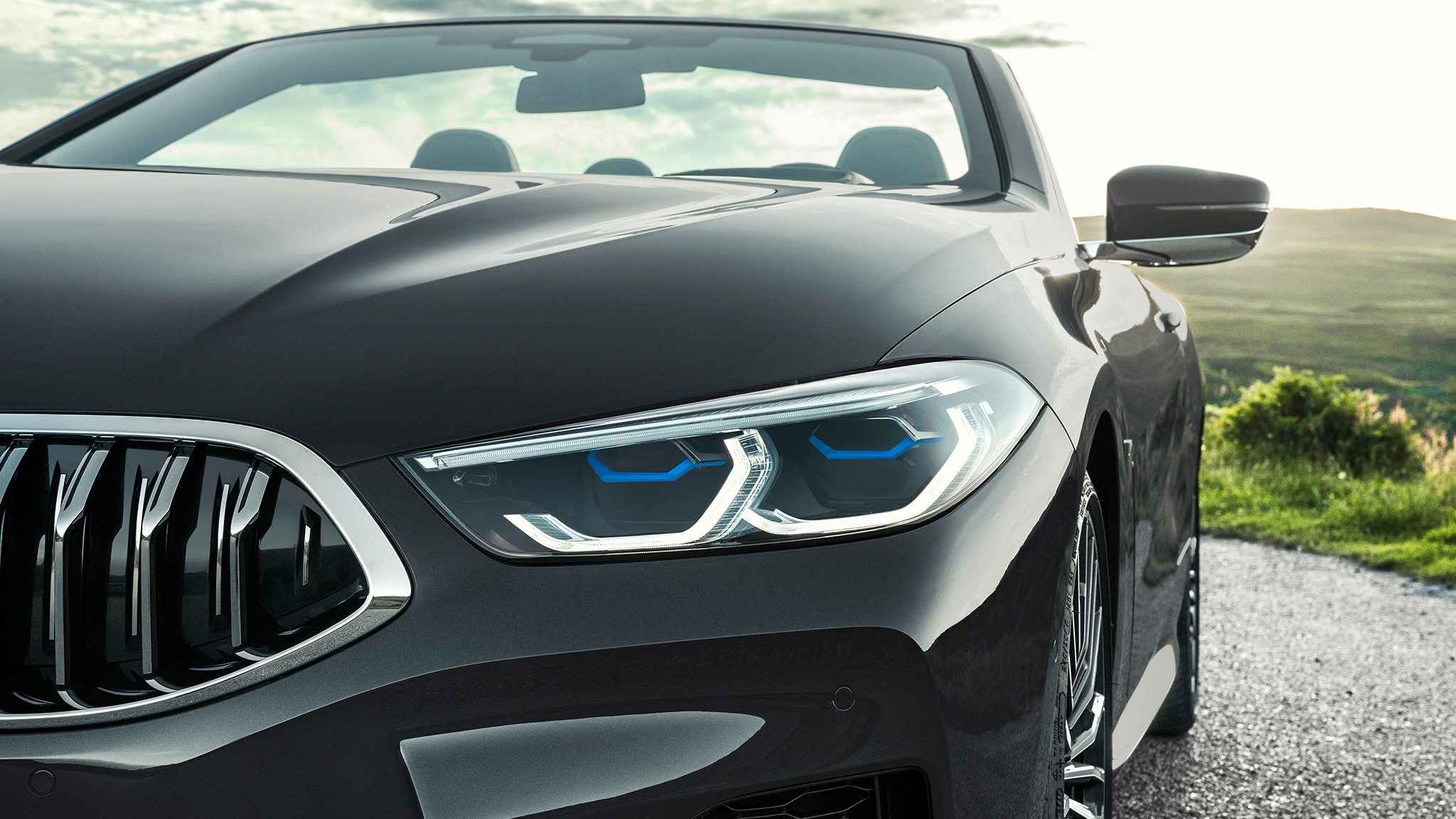 2019 BMW M850i Convertible Headlight And Grille