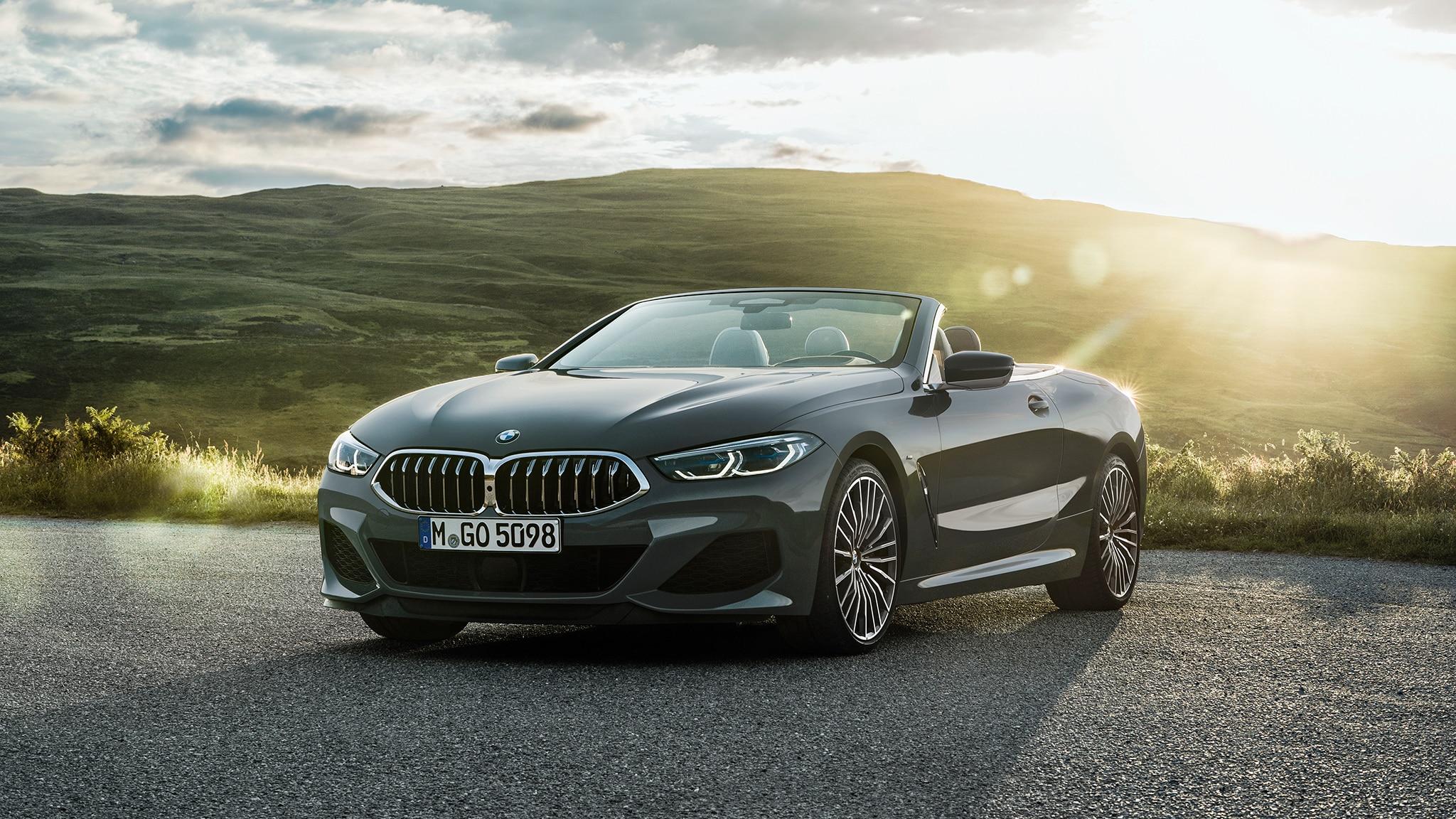 2019 BMW M850i Convertible Sun