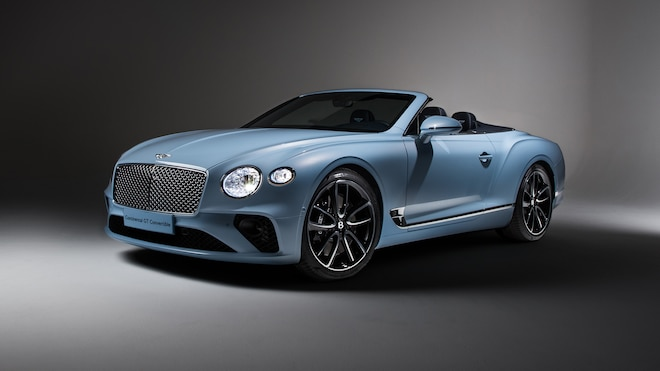 2019 Bentley Continental GT Convertible Front Three Quarter