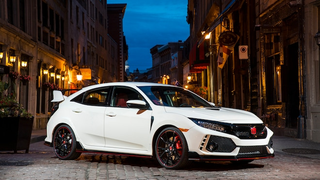 2019 Honda Civic Type R Parked