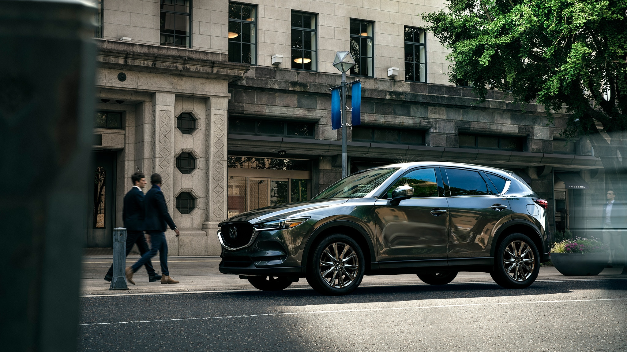 2019 Mazda CX 5 With Building