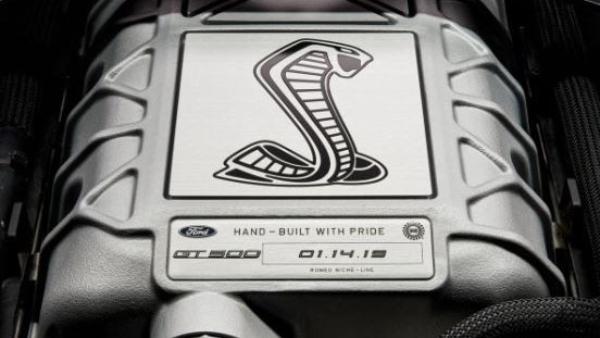 2020 Ford Mustang Shelby GT500 Engine Teaser