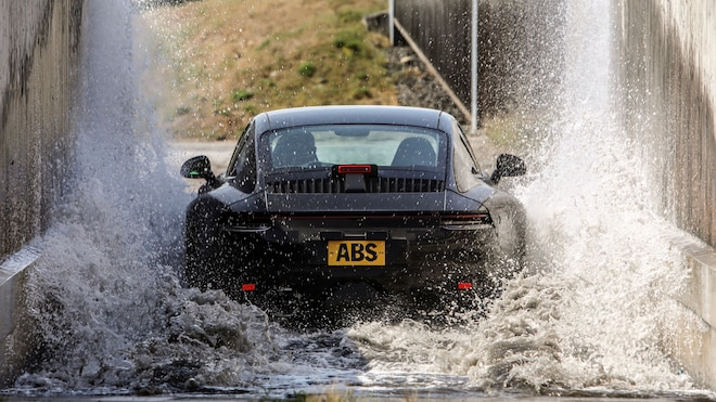 2020 Porsche 911 Prototype In Water