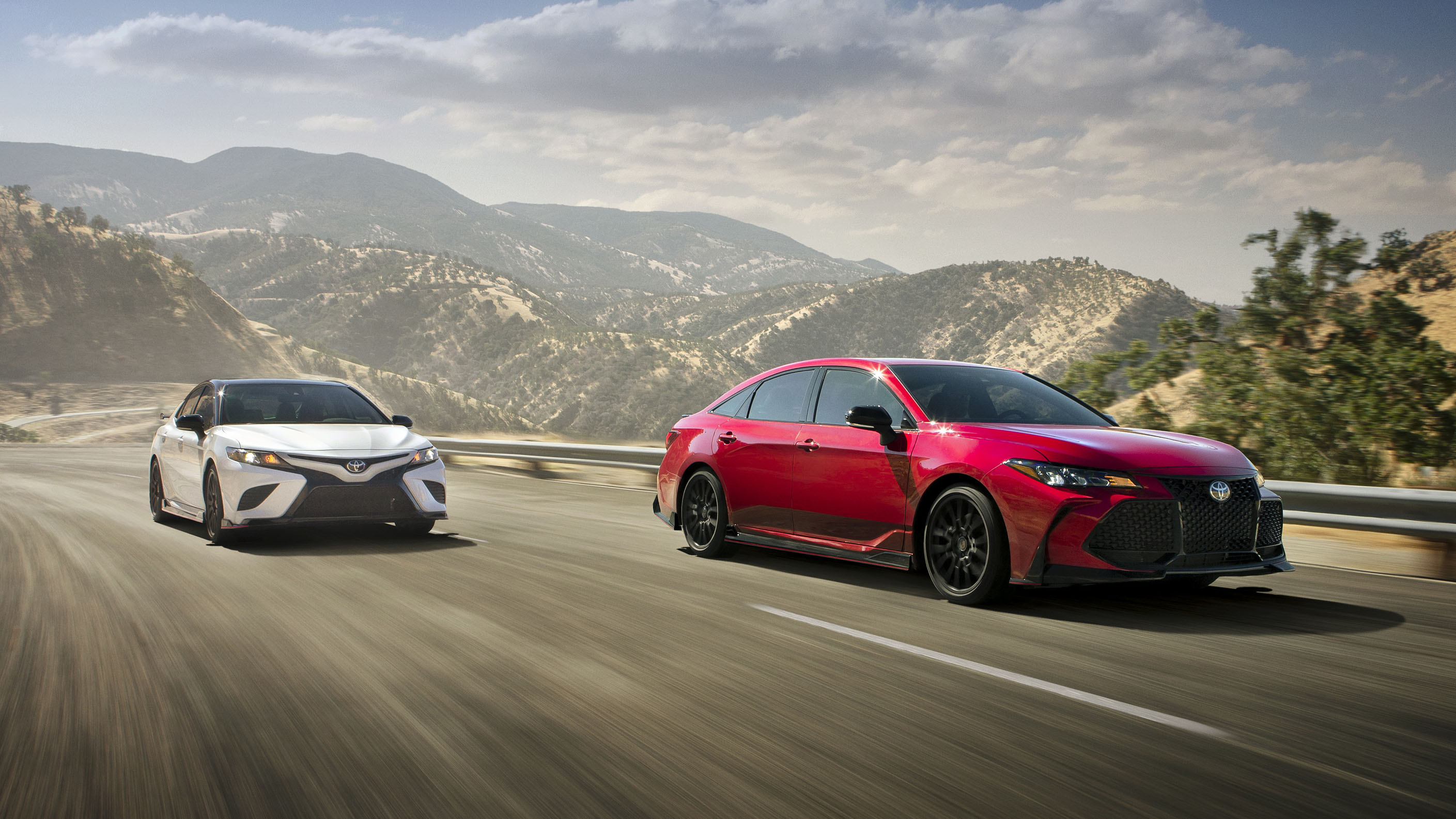 Toyota Camry TRD and Avalon TRD get unexpectedly fierce