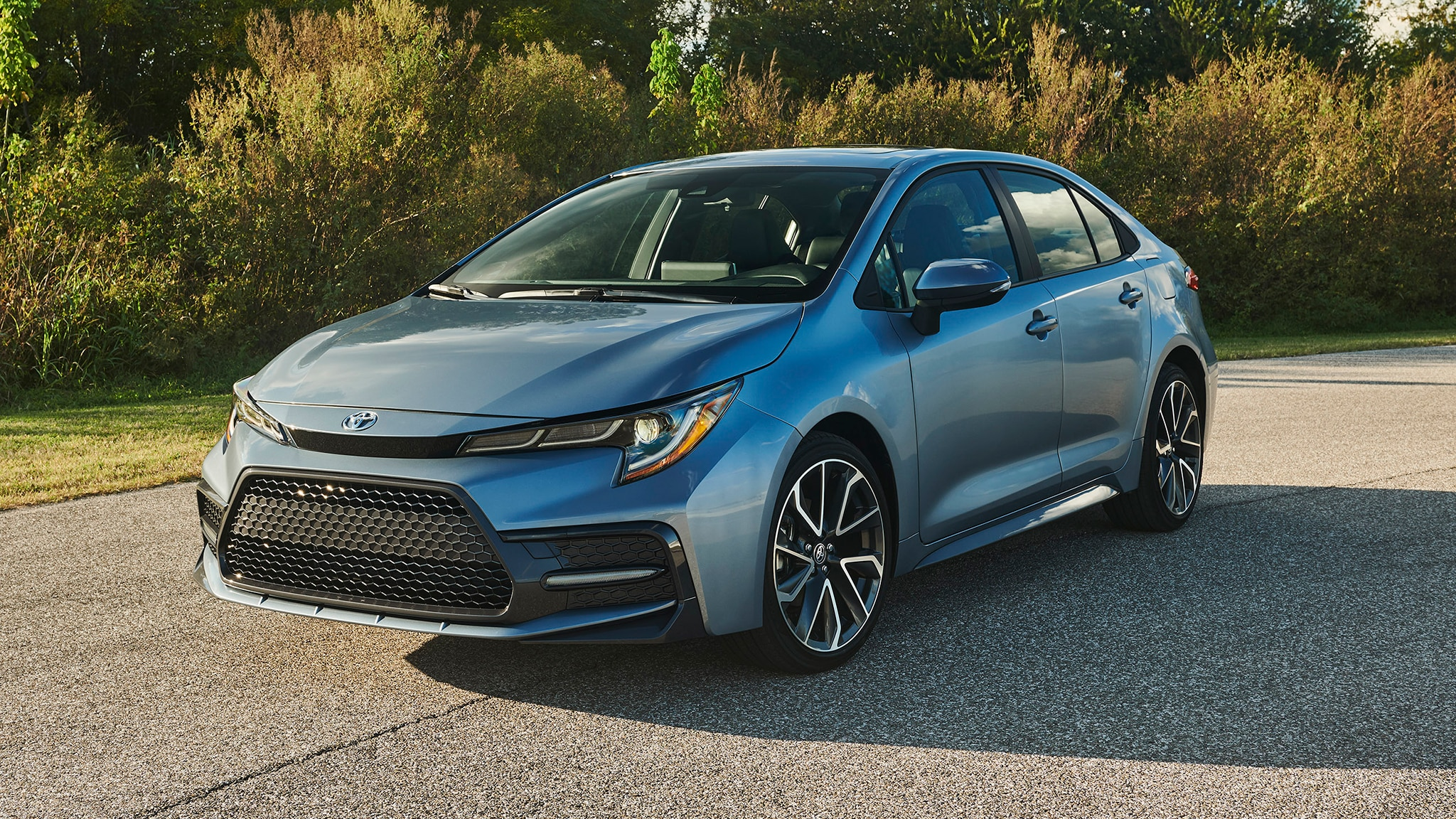 2020 Toyota Corolla Sedan is Lower, Broader, and Wider ...