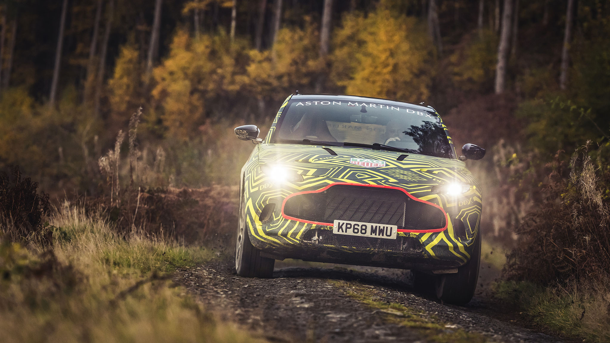 Aston Martin's First SUV Will Be Named DBX