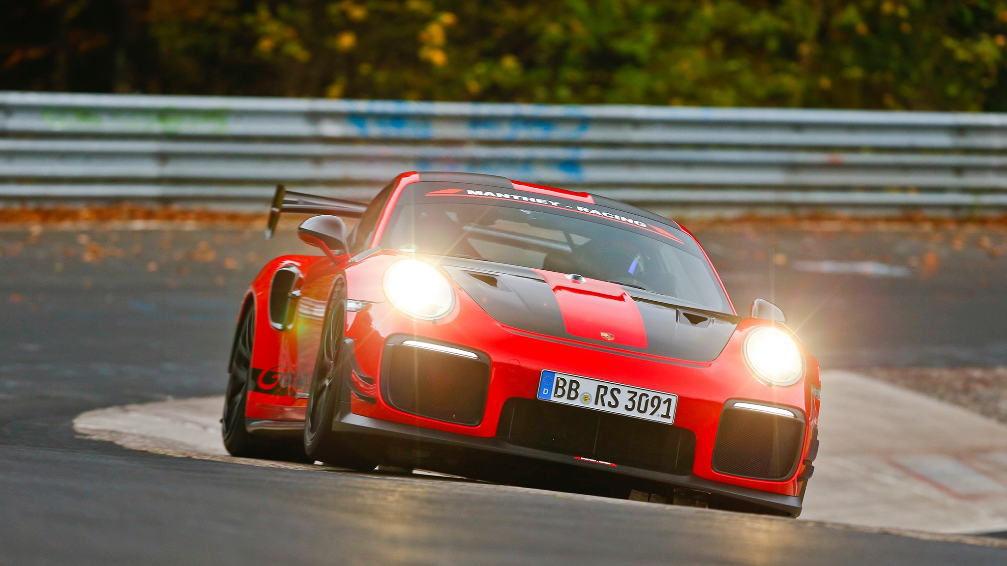 Porsche 911 GT2 RS Ring Record 1