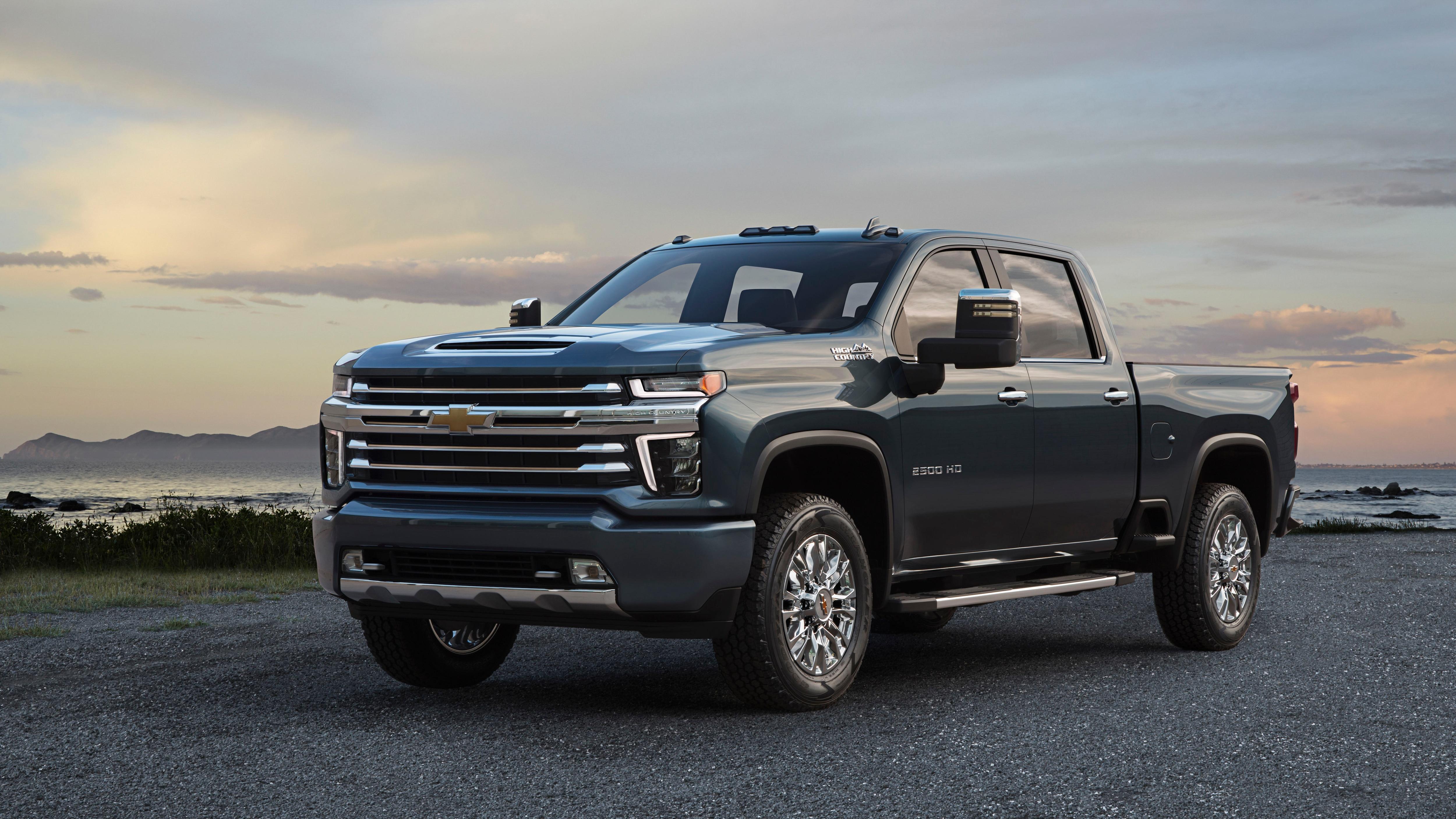 2020 Chevrolet Silverado HD High Country Gets Unique Grille   Automobile