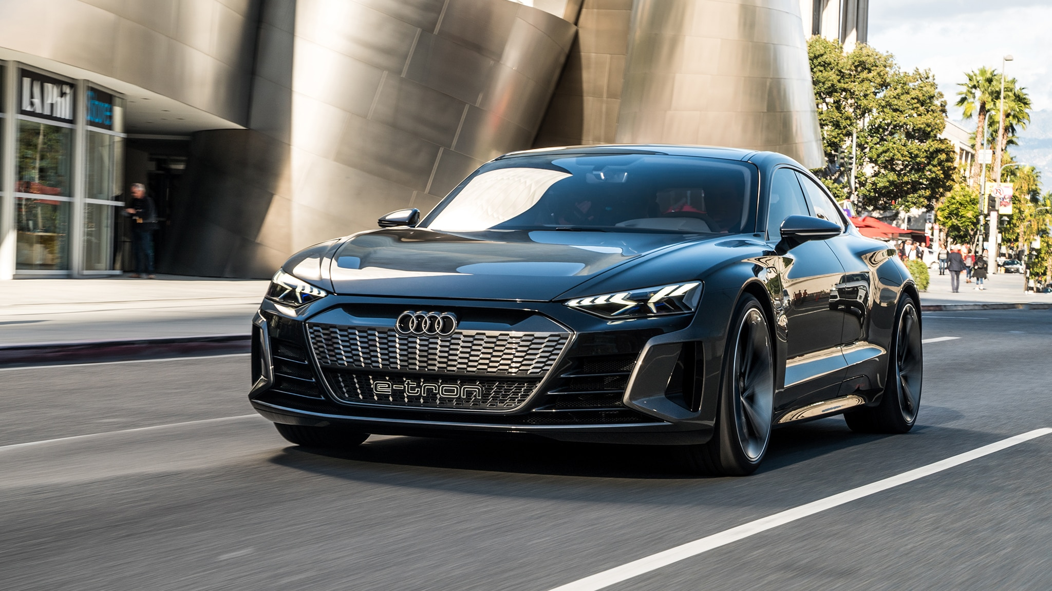 Audi's E-Tron GT Concept Previews a Design Evolution ...