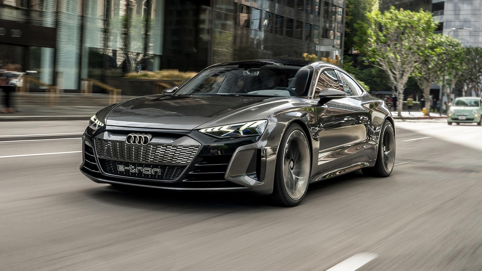 Audi S E Tron Gt Concept Previews A Design Evolution Automobile