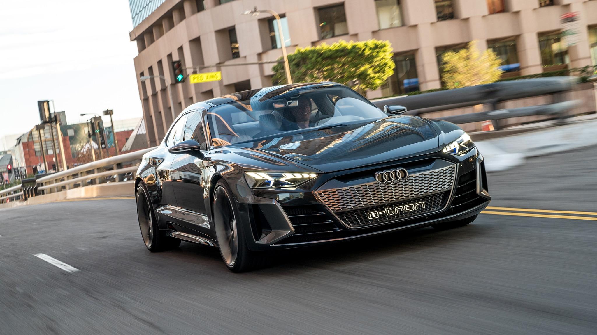 Audi Confirms A4-Sized e-tron GT Electric Sedan   Car in ...