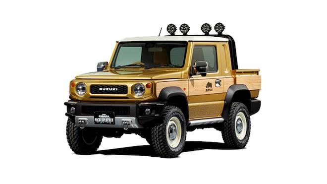 Suzuki Jimny Pickup Truck Concept For Tokyo Auto Salon 2019