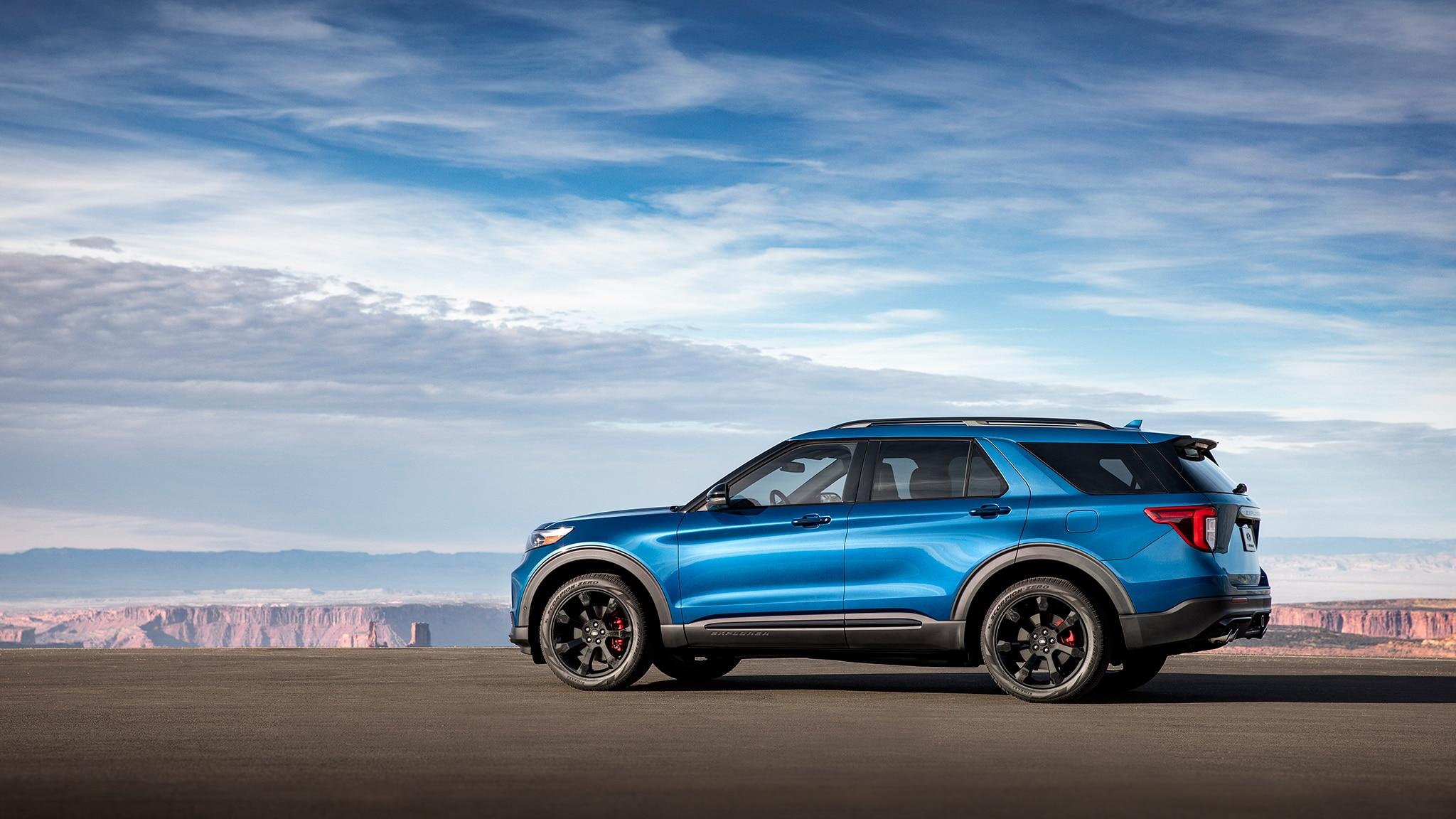 ford explorer st  drive review     hp automobile magazine
