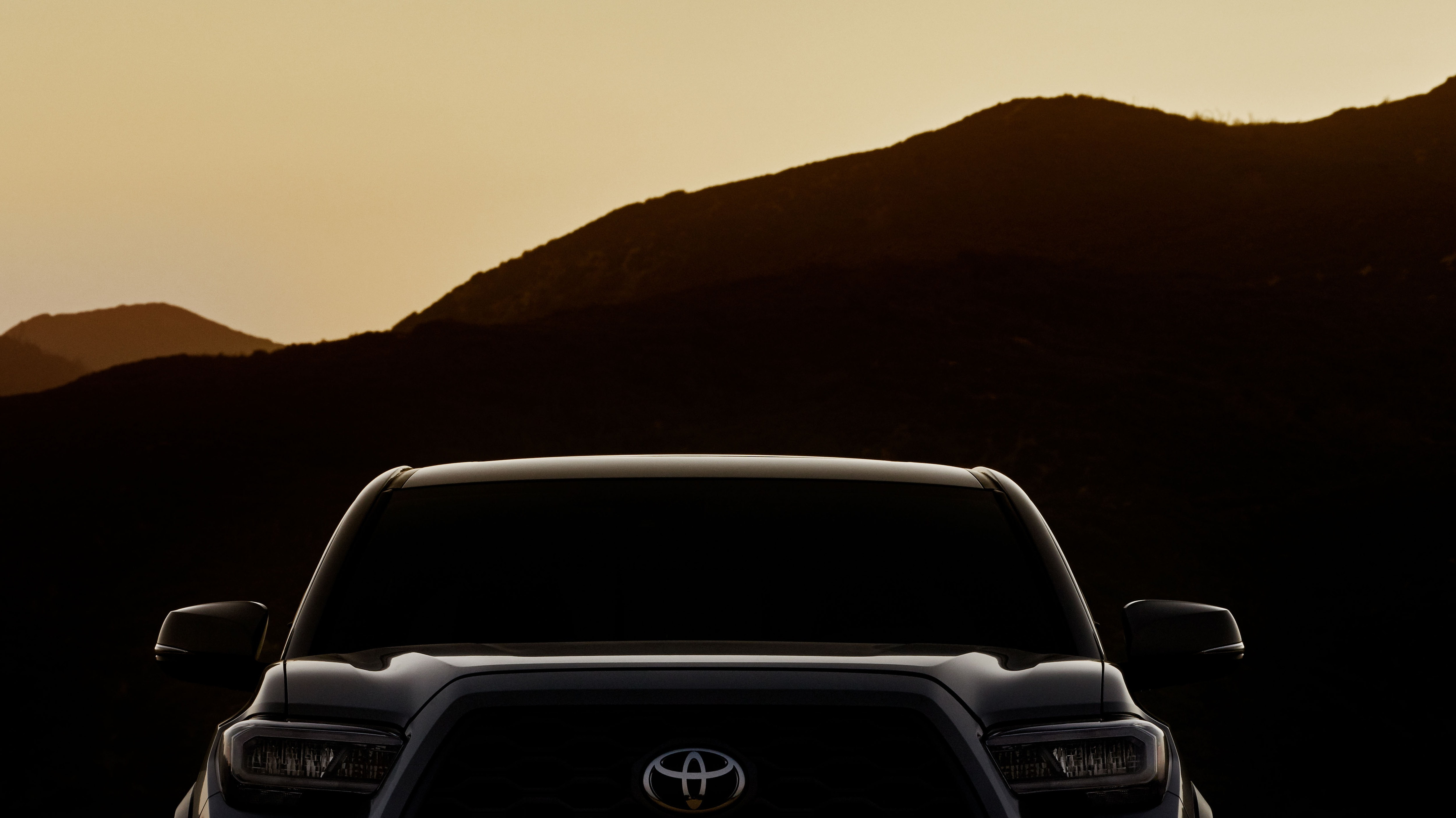 2020 Toyota Tacoma Grille Teaser