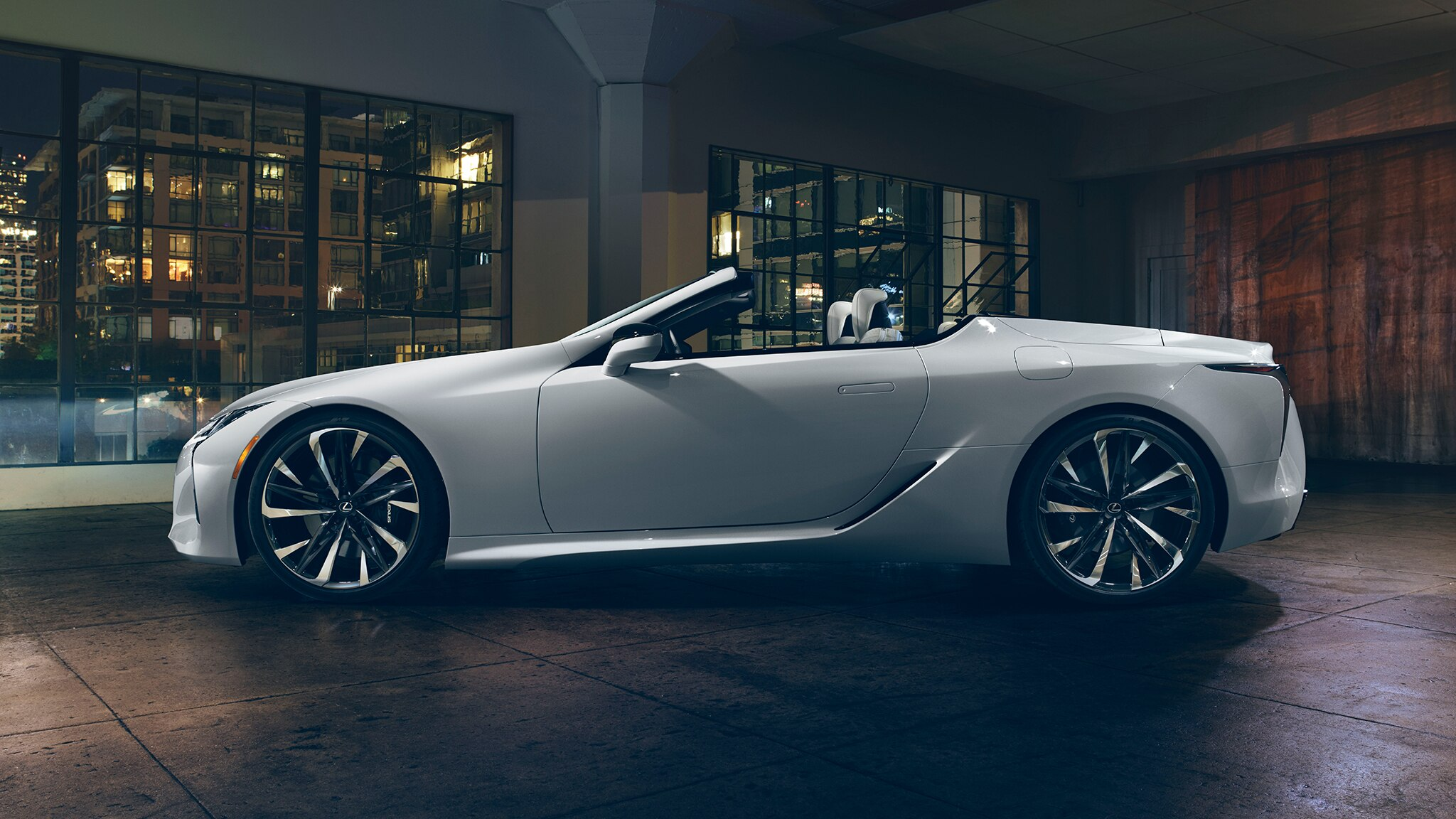 The Lexus LC Convertible Concept Is Stunning and Is Going to