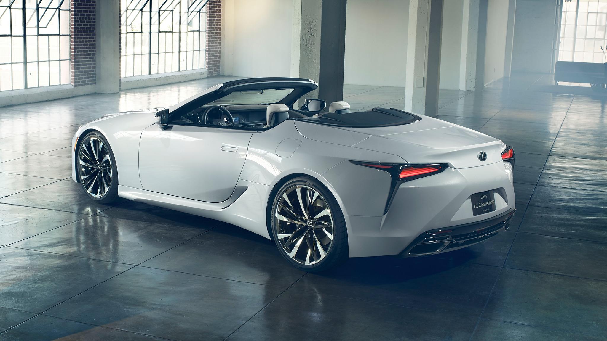Lexus LC Convertible Concept 9