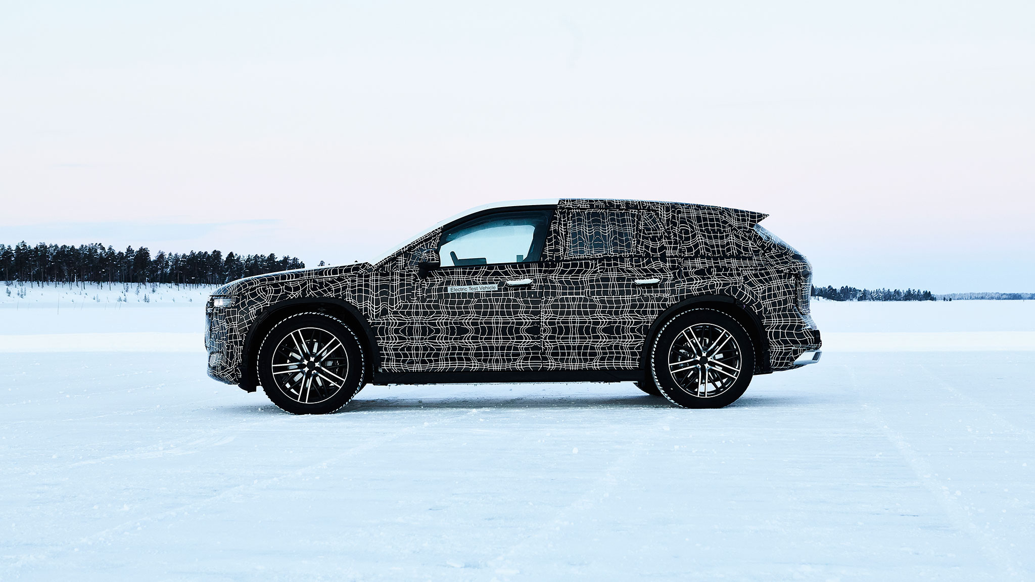 Production-Intent BMW iNext EV SUV Steps Out into the Cold ...