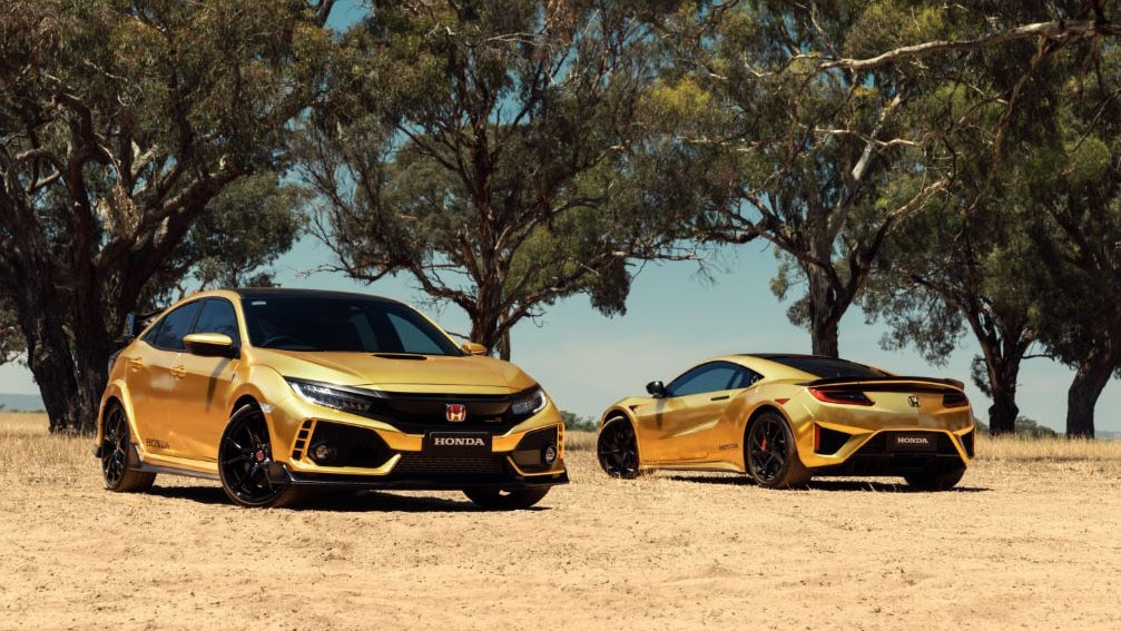 Honda Gives NSX, Civic Type R the Midas Touch