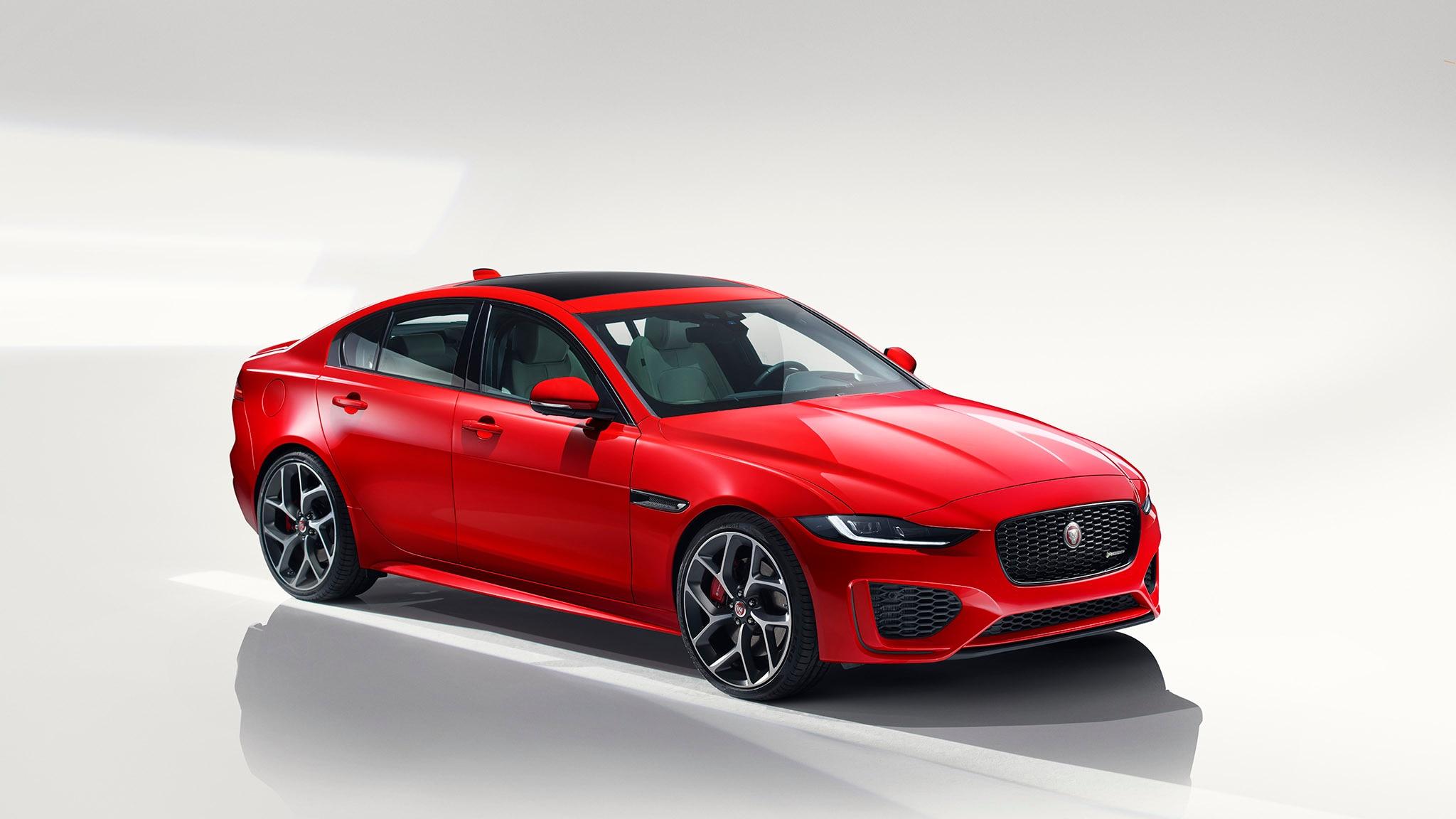 2020 Jaguar XE Revealed, Facelifted Model Drops V6 Engine