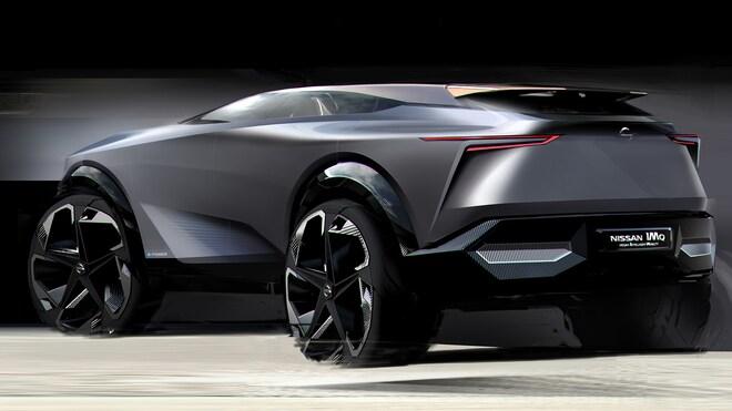 Nissan IMQ TEASER Concept Car Sketch Source