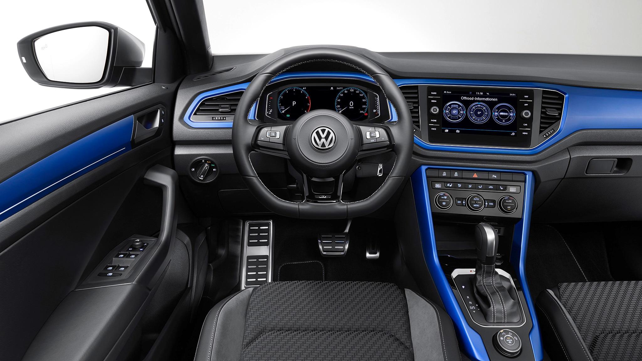 vw 39 s new t roc r is a 296 hp micro suv we actually want. Black Bedroom Furniture Sets. Home Design Ideas