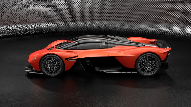 Aston Martin Valkyrie Orange 1
