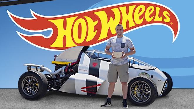 Hot Wheels Legends Tour 2018 Winner