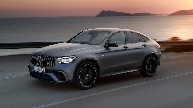 2020 Mercedes AMG GLC 63 S Coupe 1