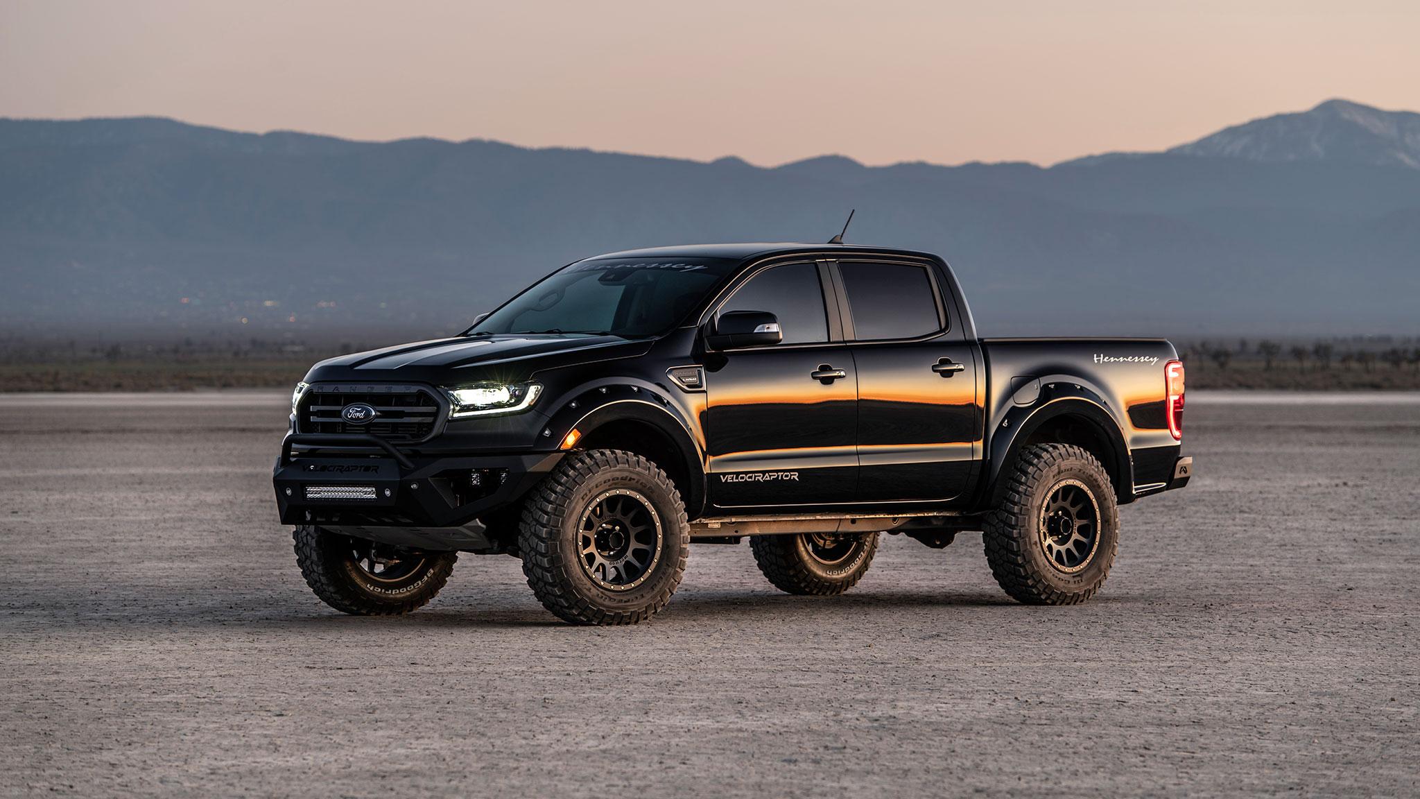 Ford F 150 Raptor Vs Tuned Hennessey Ranger Automobile Magazine