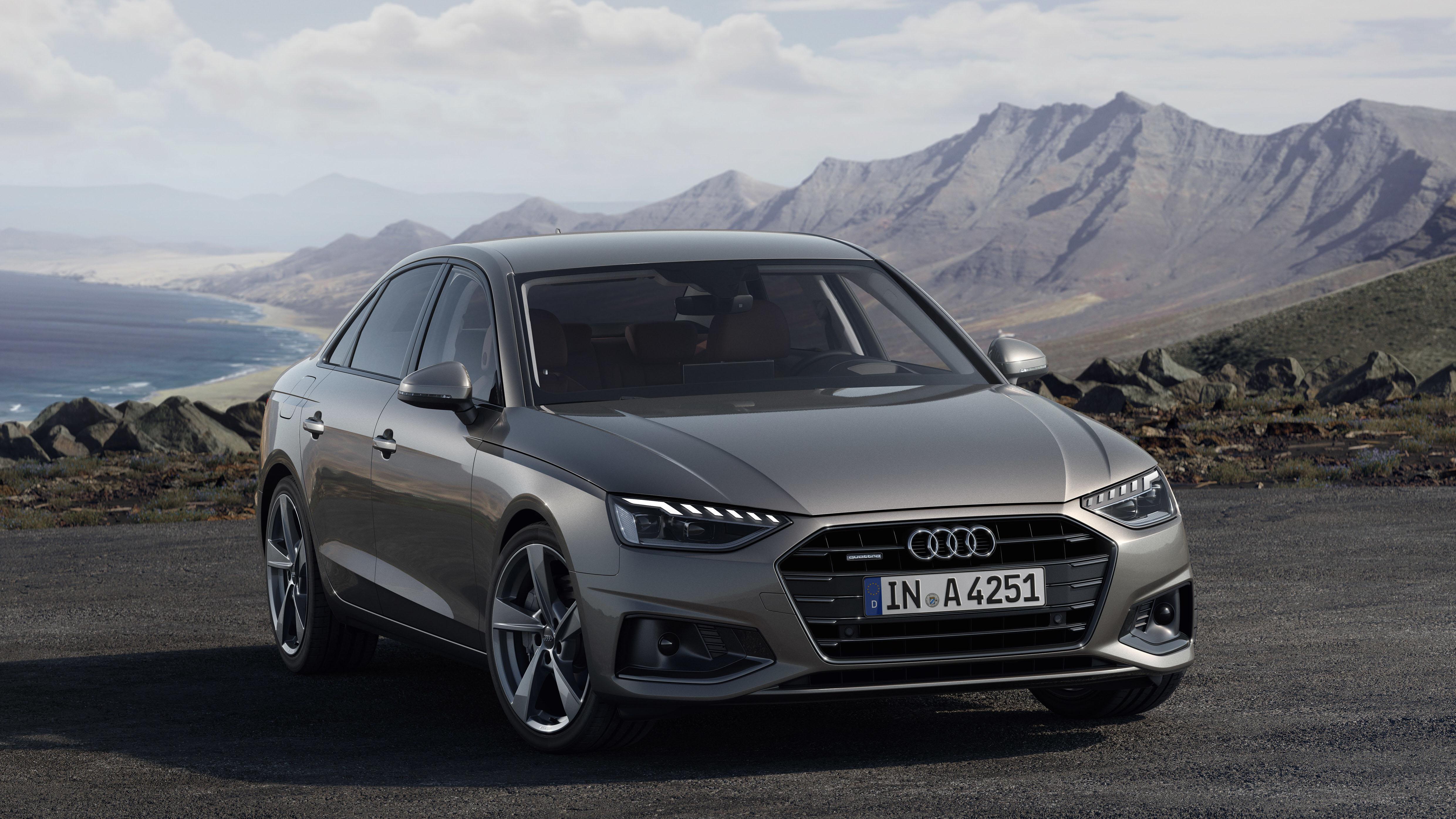 2020 Audi A4 Euro Spec Front Three Quarter