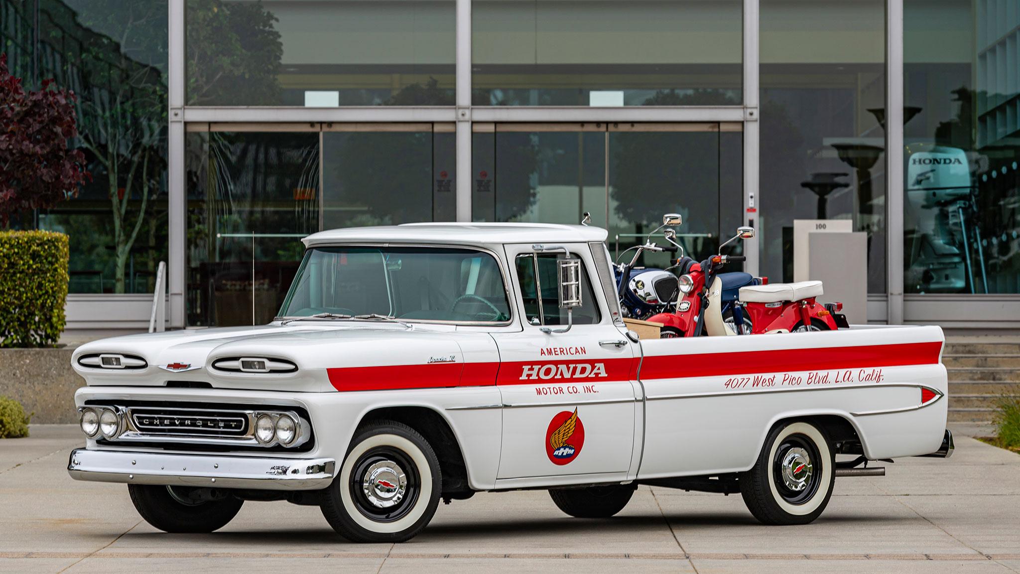 Honda Celebrates Its Heritage by Restoring Chevy Pickup | Automobile