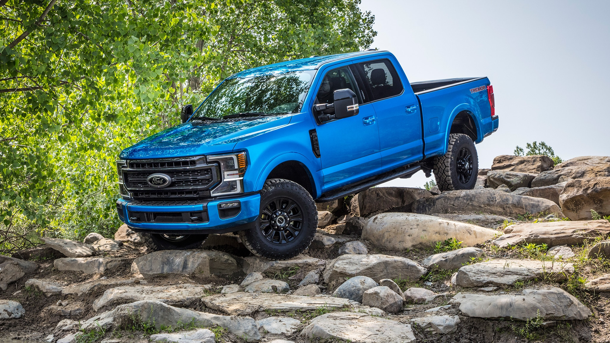 ford launches  series super duty tremor  road model automobile magazine