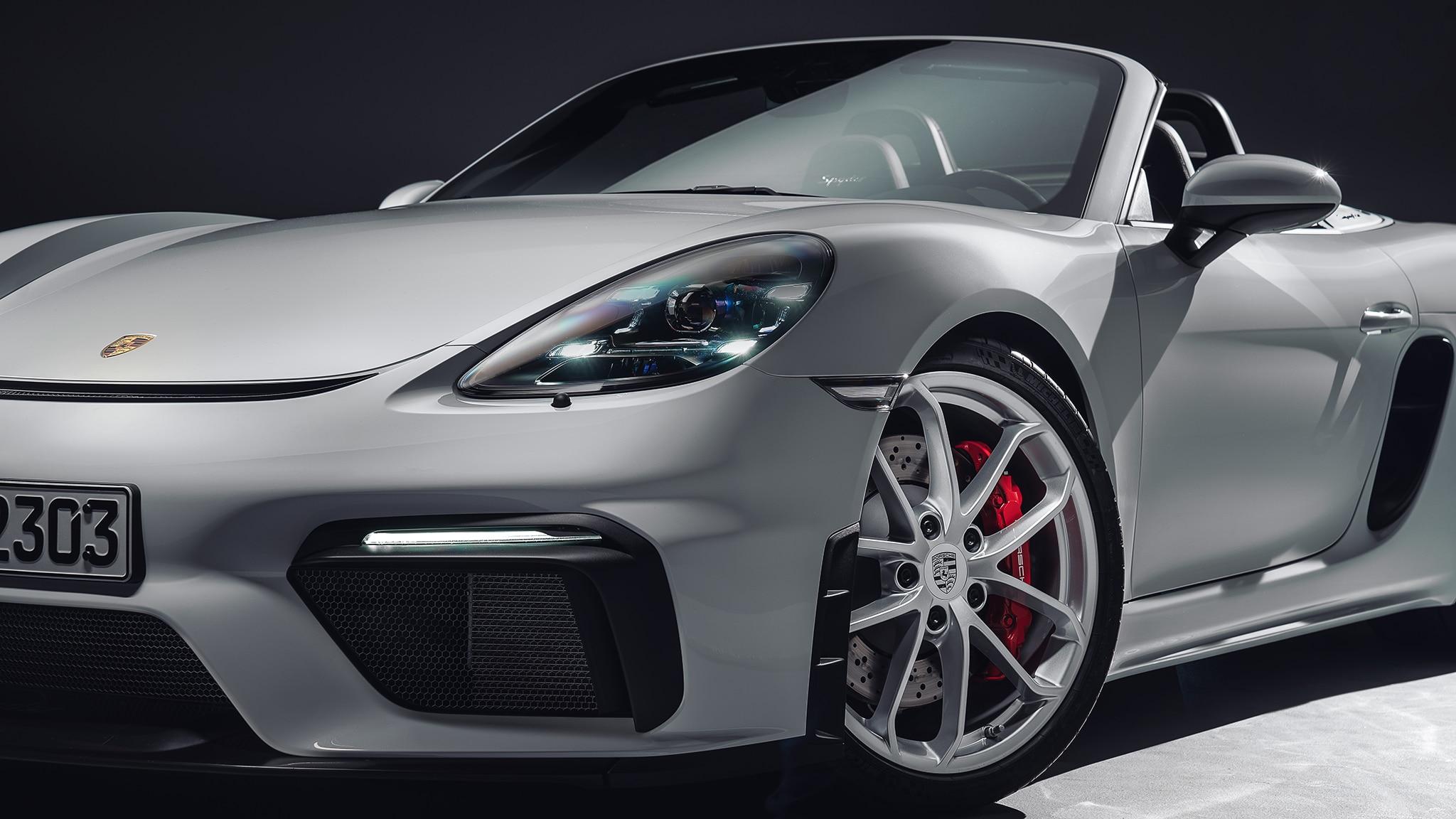 The 2020 Porsche 718 Spyder Is One Bad-Ass Boxster