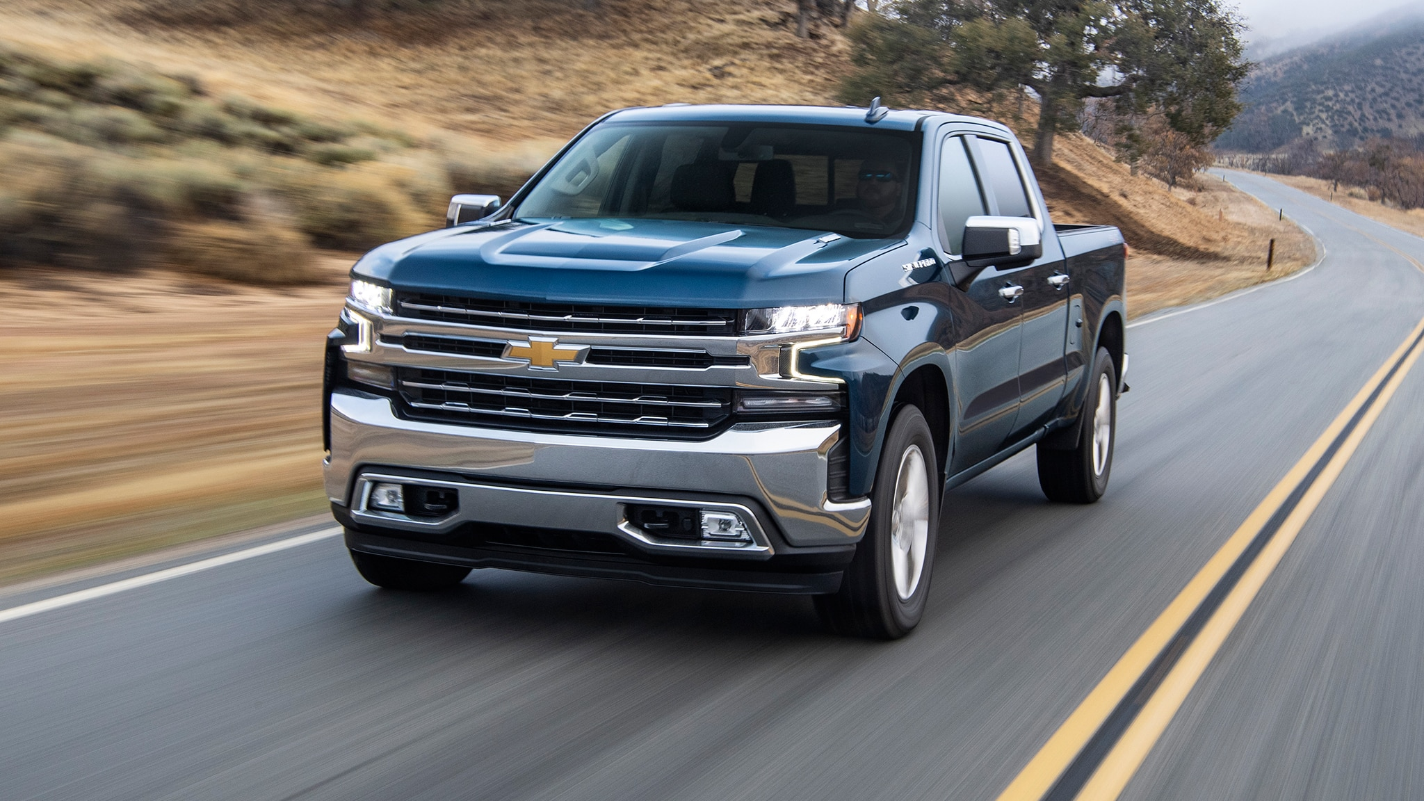 the 2020 chevrolet silverado diesel gets big highway mpg