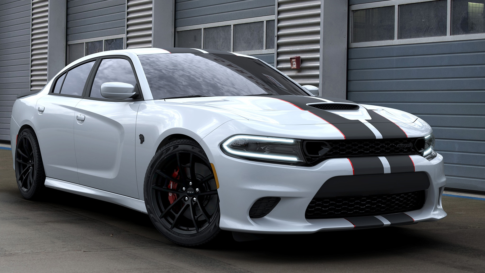 The Dodge Charger Hellcat Octane Edition Is A Blacked Out