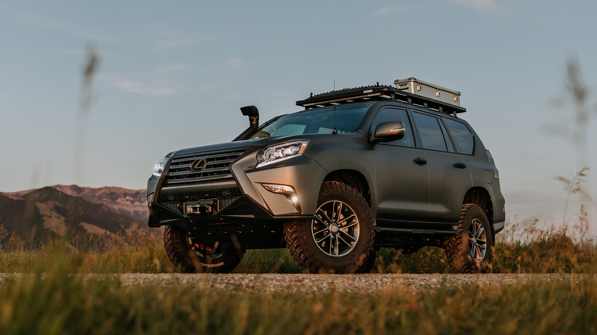 Lexus Gxor Concept Is Made For Overlanders Automobile