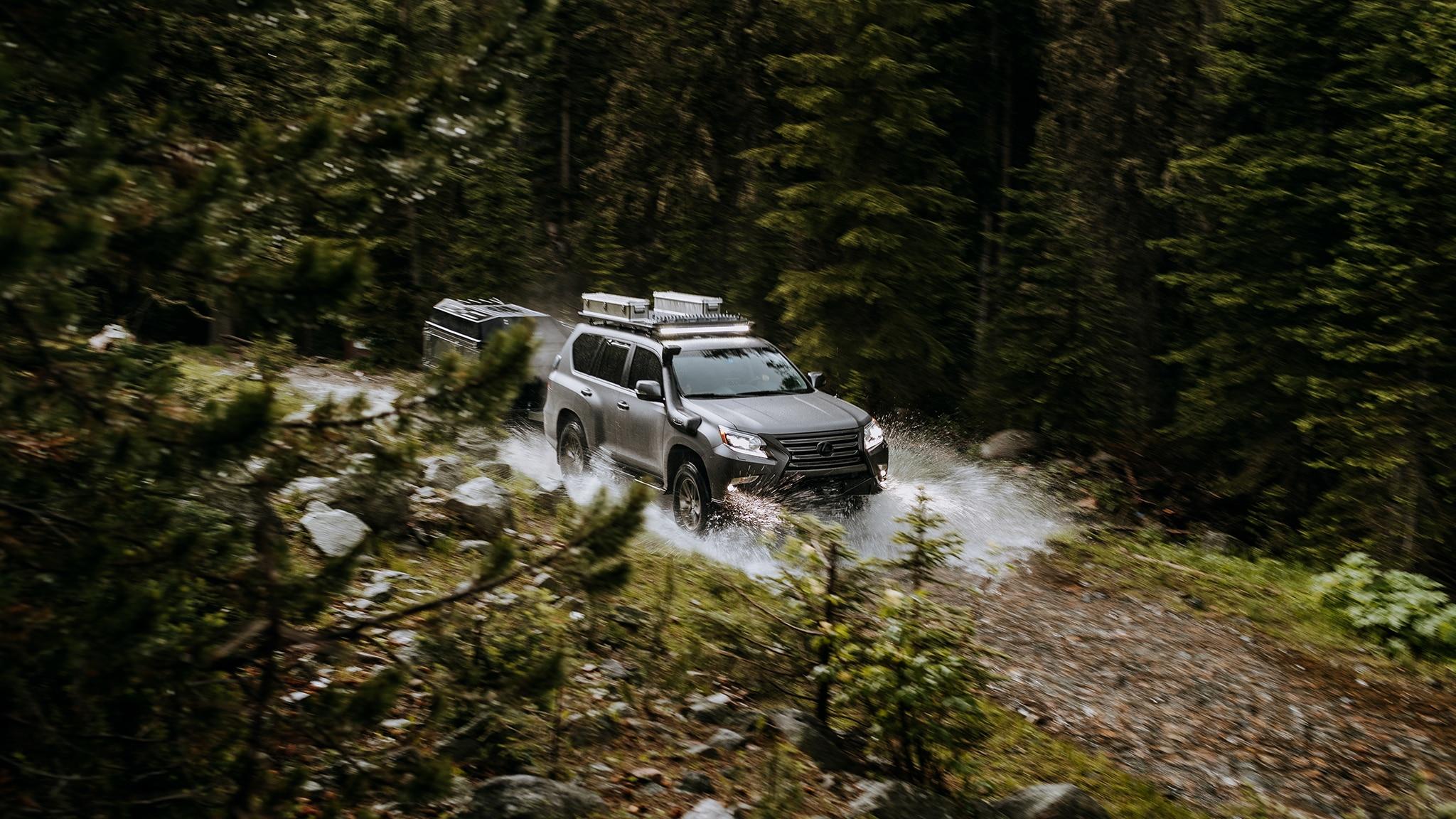 نتيجة بحث الصور عن Lexus GXOR   GX Off-road Concept Build