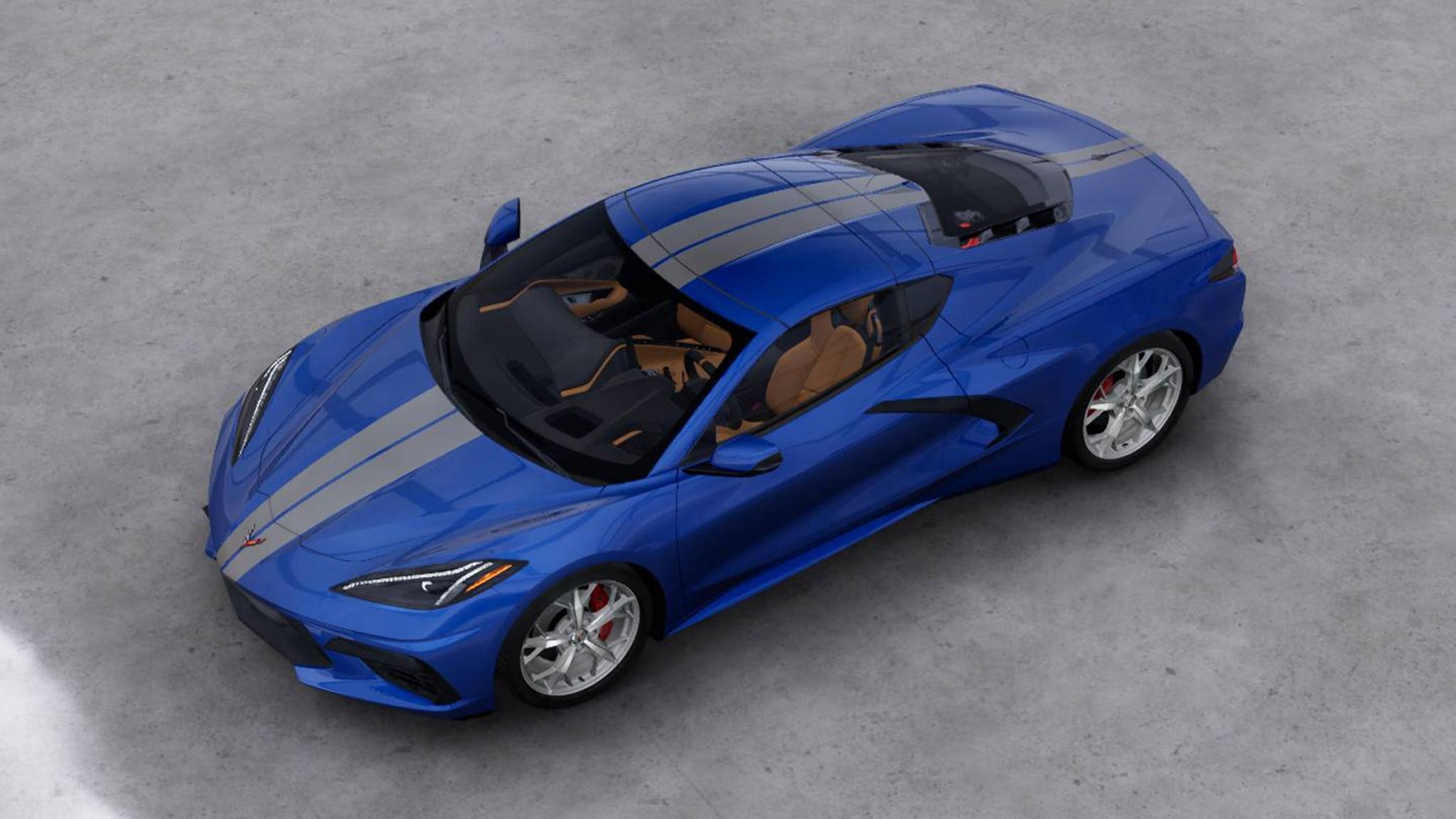2020 Chevrolet Corvette C8 Offers 12 Paint Colors & 6