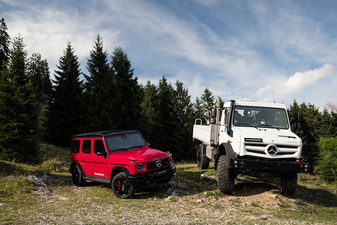 Mercedes Benz Unimog And G Class_122