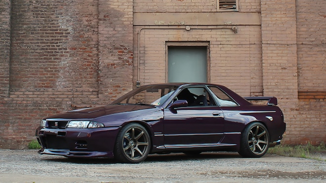 The Purple Monster R32 Skyline GTR 2