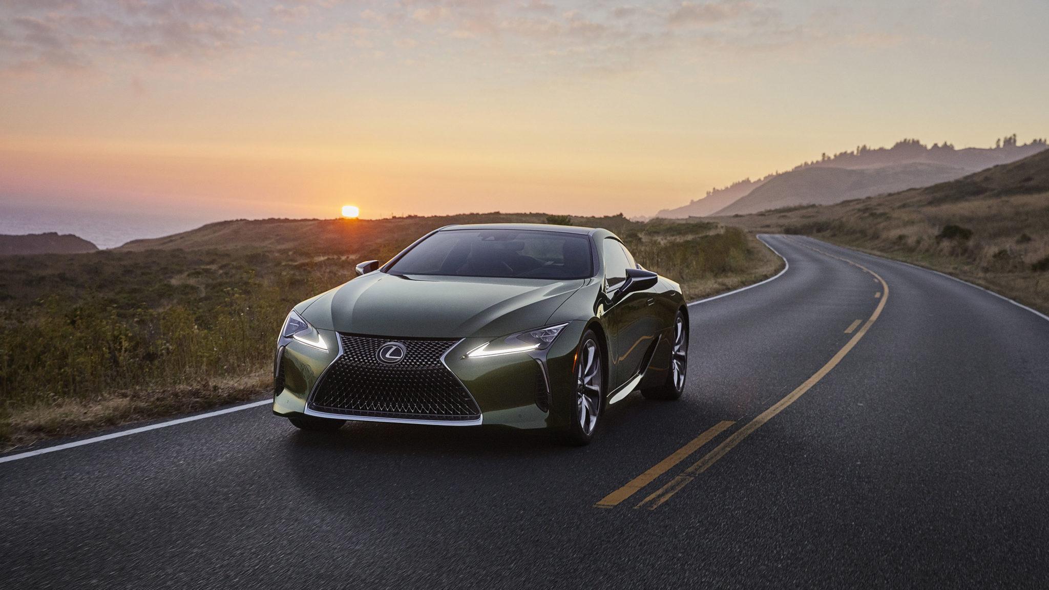 2020 lexus lc 500 inspiration series goes green