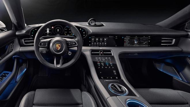 Porsche Taycan Electric Sport Sedan S Interior