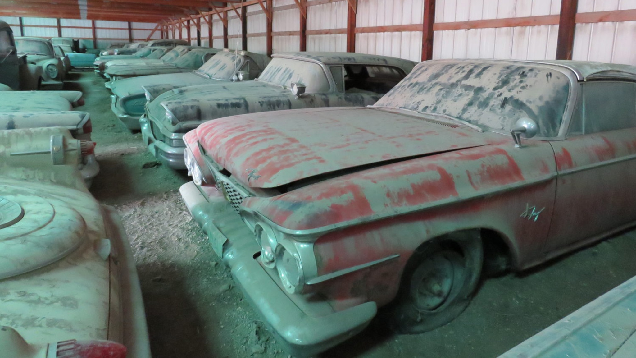 Barn Find Auction Includes 200 Collector Cars