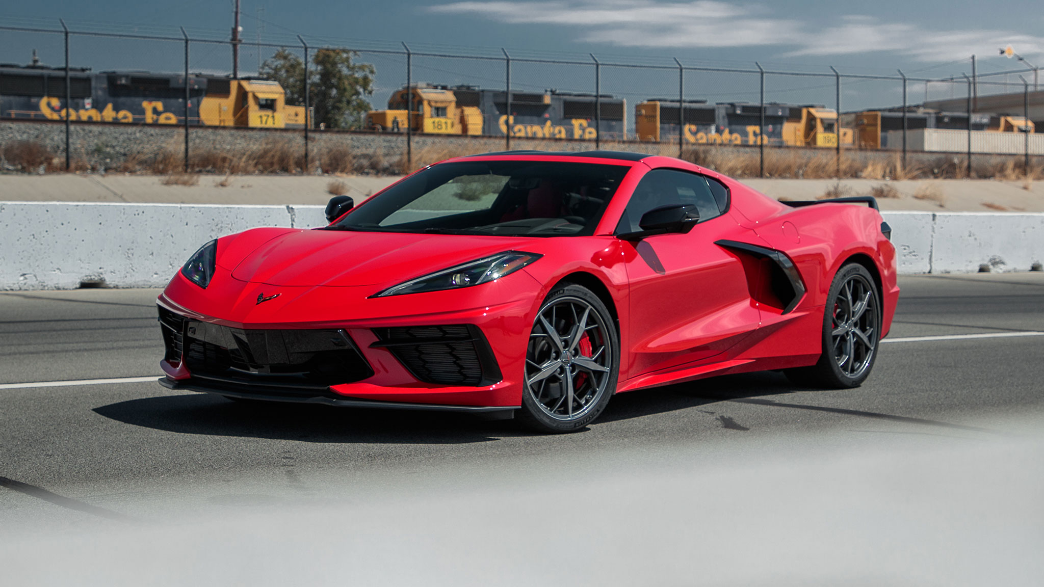 what are all those buttons in the 2020 corvette c8