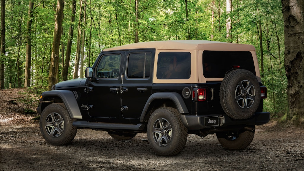 2020 Jeep Wrangler JL Diesel and Special Editions